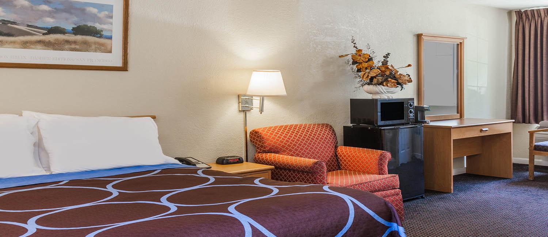 Hotel Room in San Jose CA
