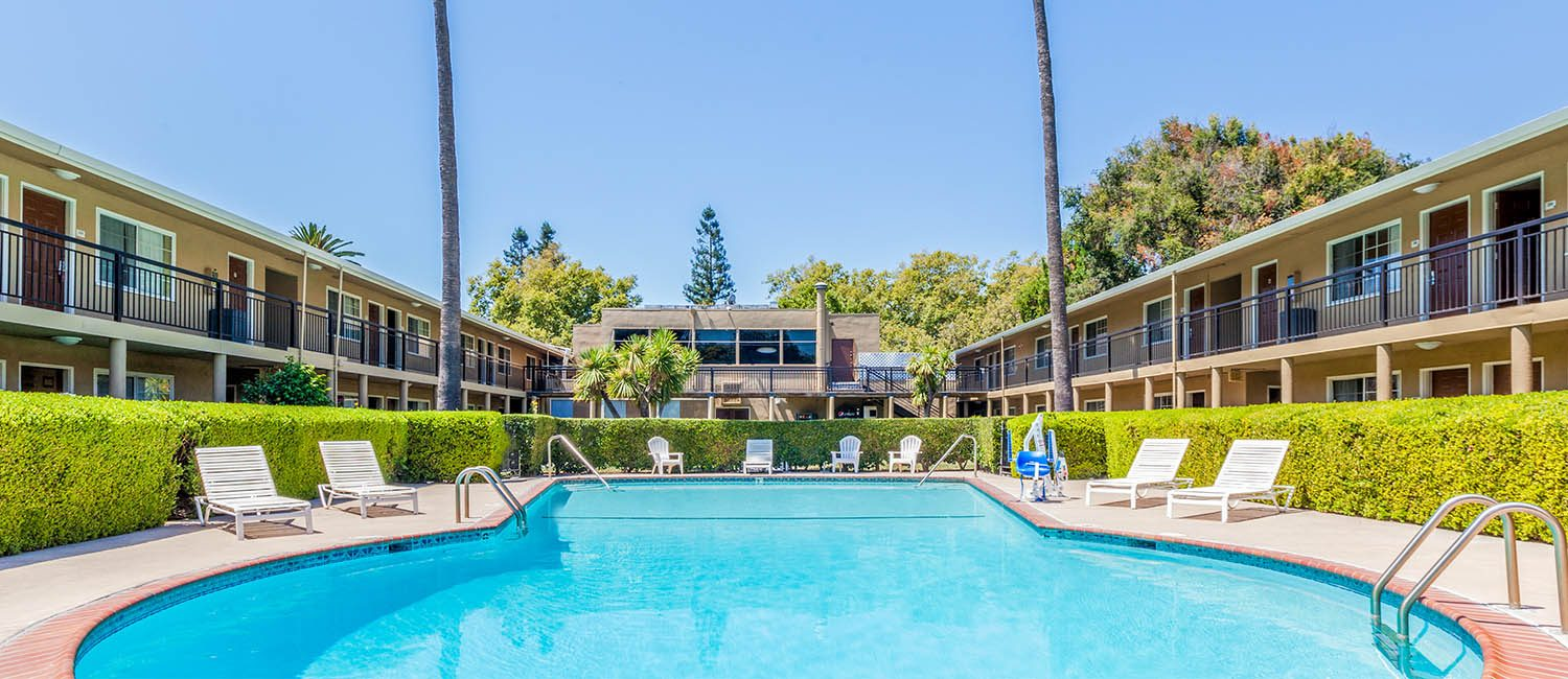 TAKE A DIP IN OUR OUR POOL AFTER A LONG DAY EXPLORING SAN JOSE