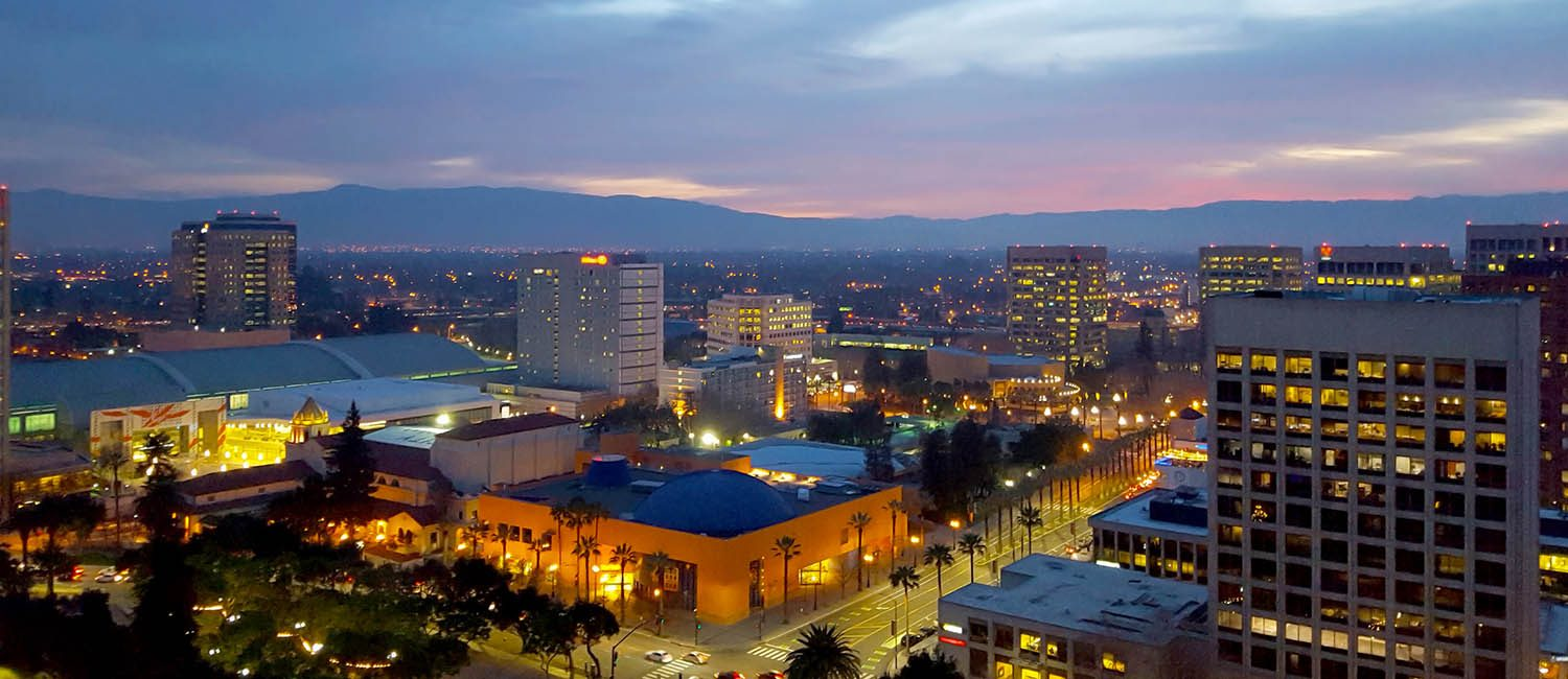 OUR HOTEL IS LOCATED JUST 1 MILE FROM SAN JOSE'S MINETA INTERNATIONAL AIRPORT