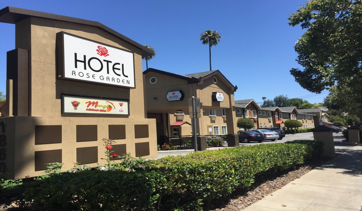 Hotel Rose Garden San Jose   Welcome To The Newly Rebranded Hotel Rose  Garden
